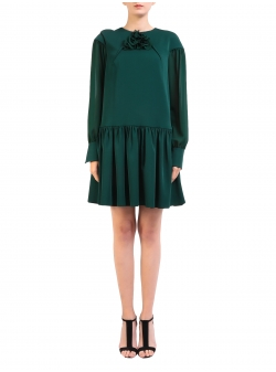 Green Short Dress Lorell Florentina GIol