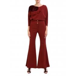 Pantaloni evazati cu nasturi aurii Florentina Giol