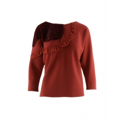 Hoppy Blouse With Fur Insert Florentina Giol