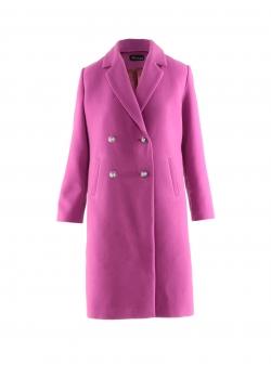 Palton roz cu paiete pe spate Mimita