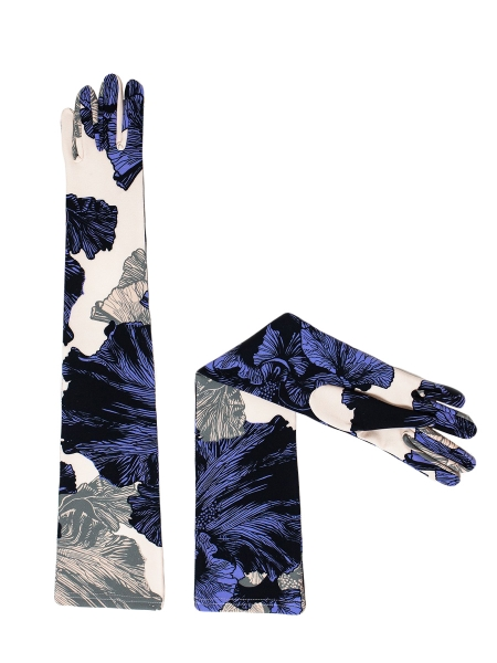 Gloves with the print Ioana Ciolacu