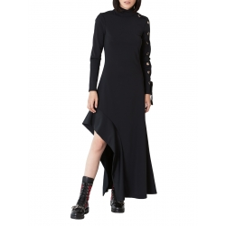 Dress with asymmetrical finish Ramelle
