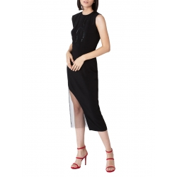 Black dress with sequin applications Ramelle