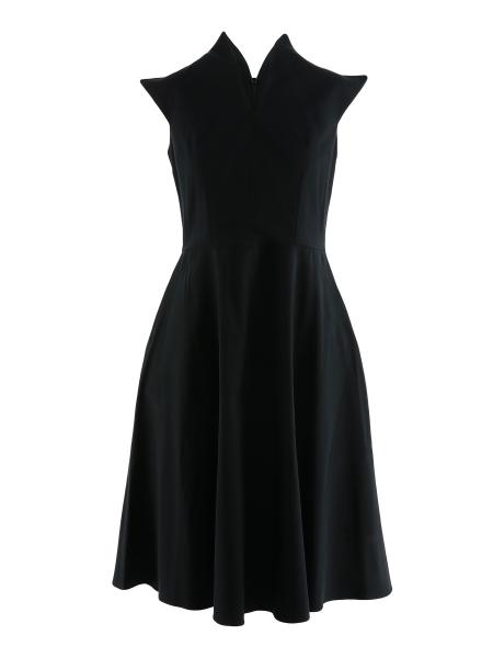 Dress with high collar Laris Dragna