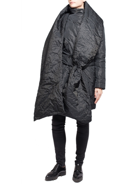 Jacheta neagra cu aspect sifonat Edita Lupea