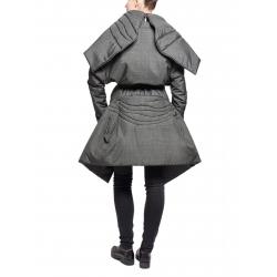 Jacheta lunga gri