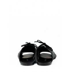 Papuci din piele intoarsa cu siret Meekee