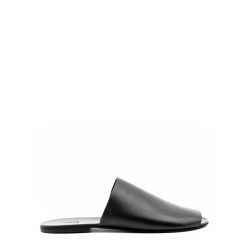 Papuci din piele naturala Panel Meekee