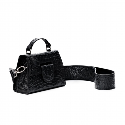 Geanta mini neagra Lindsay Sac Bags