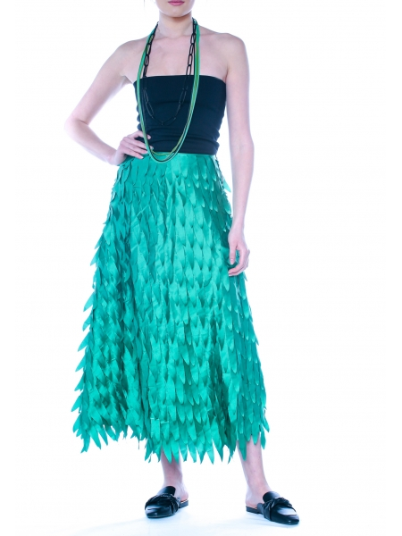 3D Green Skirt DoubleYou