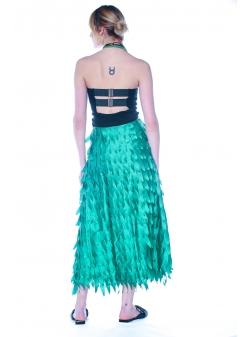 3D Green Skirt DoubleYou