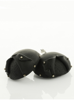 Candy Black Earrings Maria Filipescu