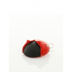 Cercei rosu-negru Candy Maria Filipescu