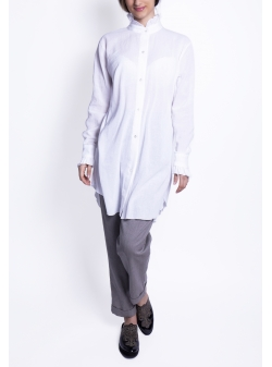 Linen White Shirt Azaris