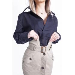 Linen Black Shirt Azaris