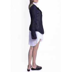 Black Linen Jacket Azaris