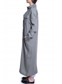 Long Kaki Dress Azaris