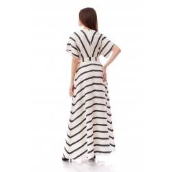 Rochie lunga cu dungi Komoda