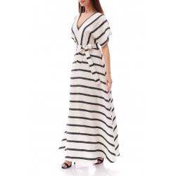 Striped Long Dress Komoda