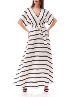 Striped Long Dress Komoda