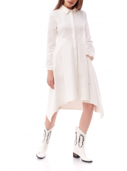 Rochie camasa alba Komoda