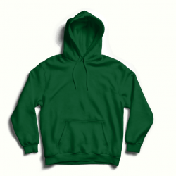 Green hoodie with back print MySimplicated