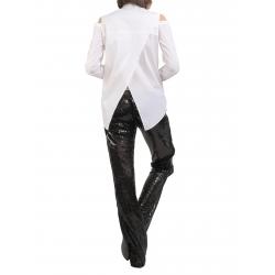 White Cotton Shirt Entino