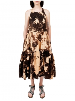 Cotton Dress with Print Ioana Ciolacu