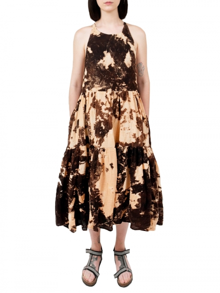 Cotton Dress with Print Ioana Ciolacu