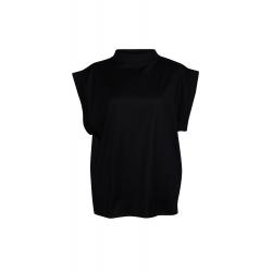 Black Oversized Blouse Parlor