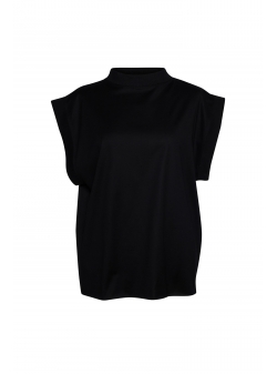 Black Oversized Blouse Parlor