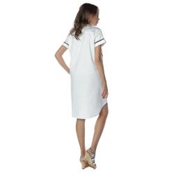 Rochie camasa alba din bumbac Komoda