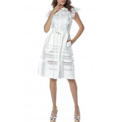 Organza White Dress Komoda