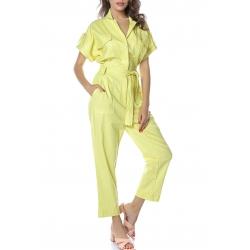 Yellow Jumpsuit Komoda