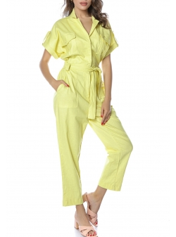 Yellow Jumpsuit Komoda