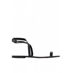 Sandale negre din piele Meekee
