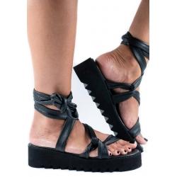 Black Sandals Web Meekee