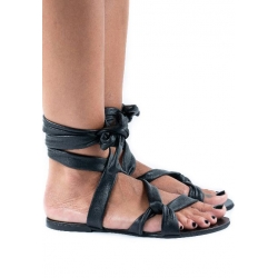 Natural Leather Sandals Web Meekee