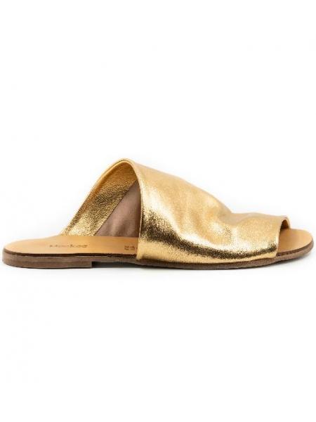 Papuci din piele Sun Slides Meekee