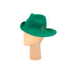 Palarie verde din fetru DeCorina Hats
