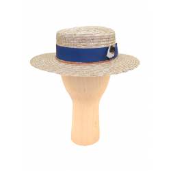 Palarie din paie cu panglica Cruiser DeCorina Hat