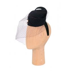 Hat with veil Chandra DeCorina Hats