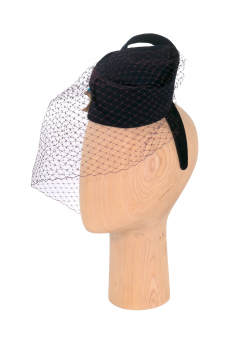 Hat with veil Chandra DeCorina Hats