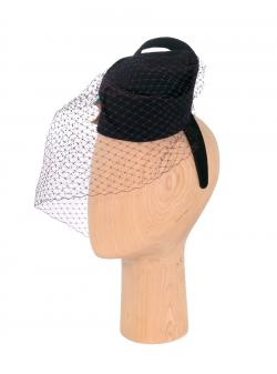 Palarie cu voaleta Chandra DeCorina Hats