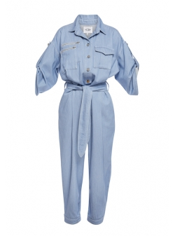 Blue Denim Jumpsuit Afmf