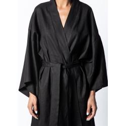 Kimono negru din in Isso
