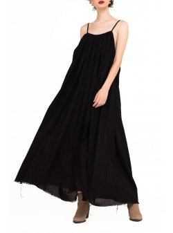 Black Long Dress Bluzat