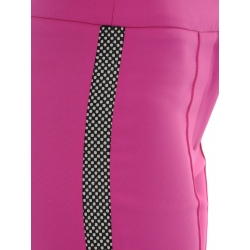 Pantaloni roz cu vipusca Florentina Giol