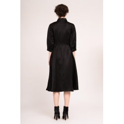 Flared Black Dress Bluzat