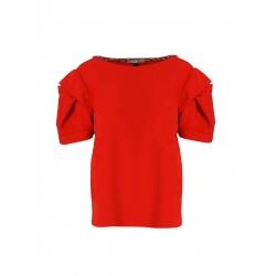 Bluza rosie din viscoza Oana Manolescu